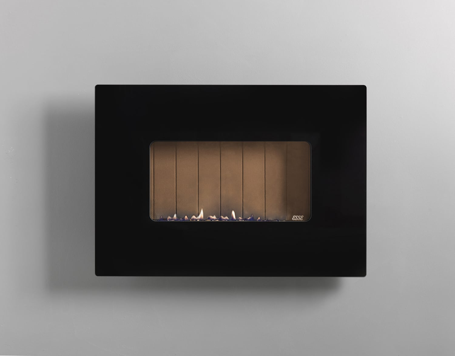 The 41 Is A Wall Mounted Gas Fire In Landscape Layout