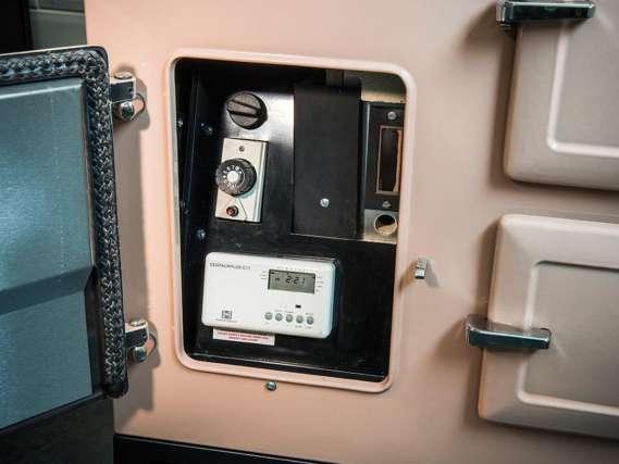 ESSE CAT Gas thermostatic control