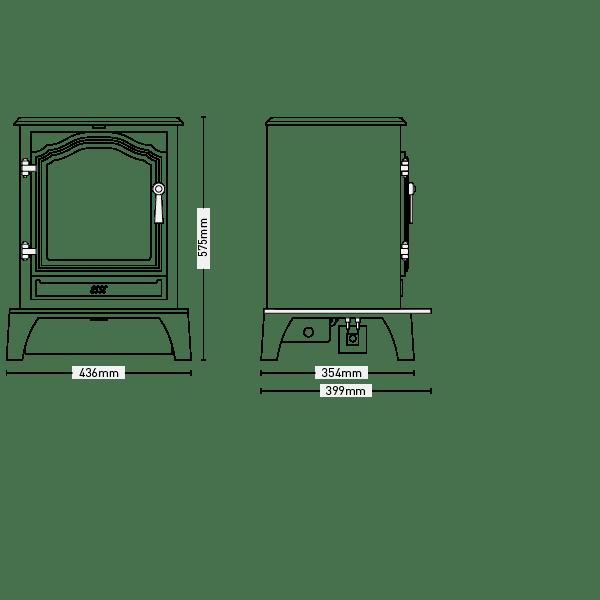 ESSE FG500 Vista Stove