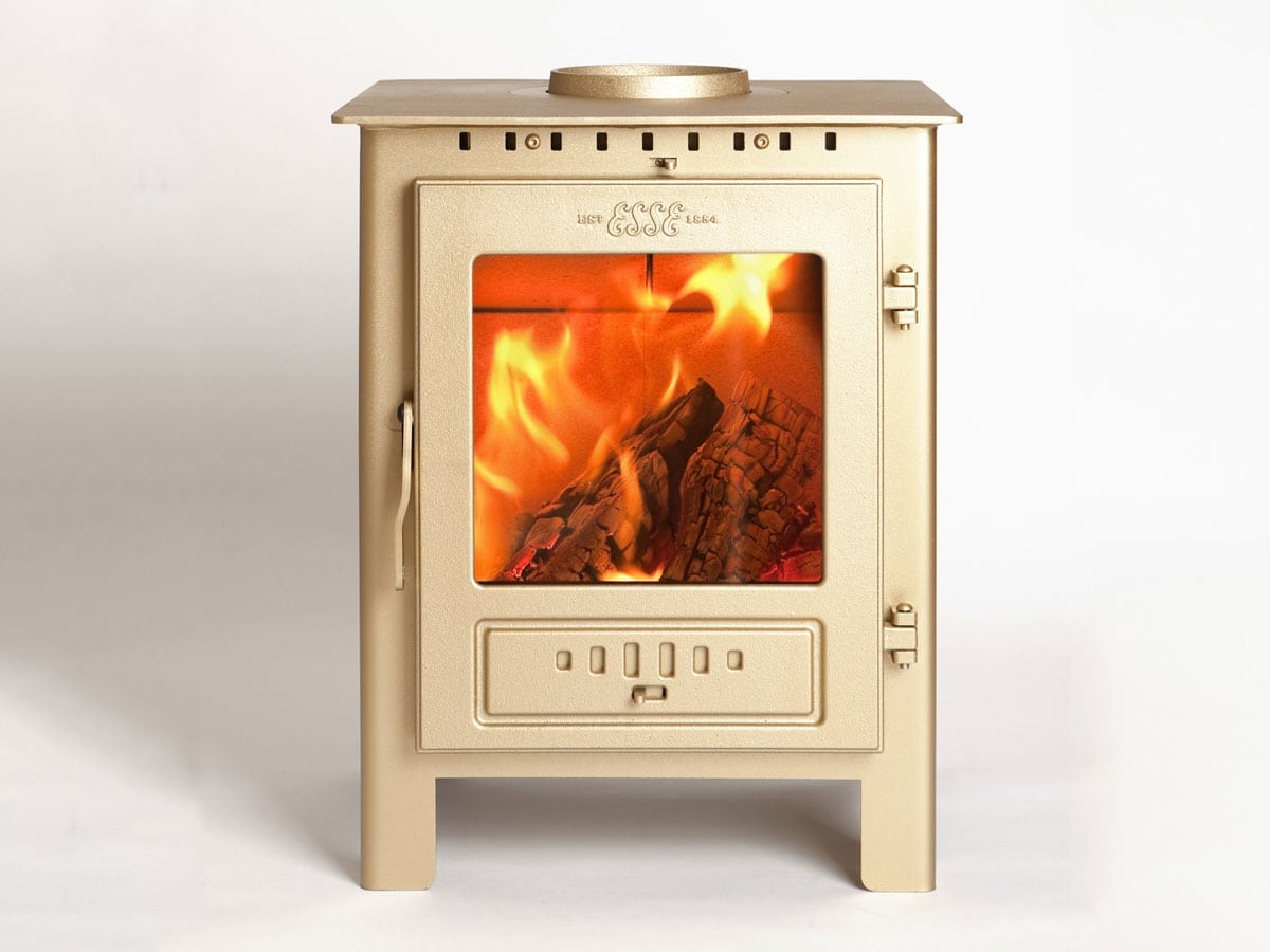 ESSE 1 stove in gold