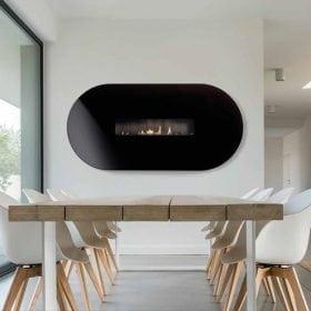 Gas Fire Ovel