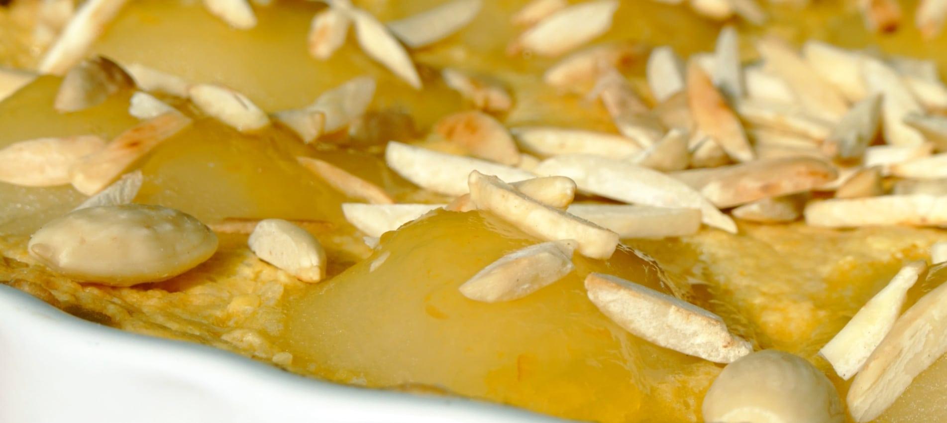Pear And Almond Cake Recipe Esse