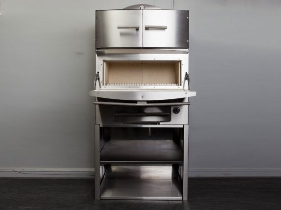 ESSE Chargrill grill door open