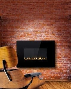 41 inch Firewall Red Brick