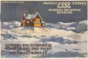 ESSE warm home vintage advert