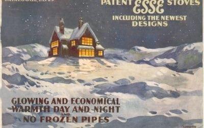 ESSE warm home vintage advert