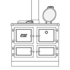ESSE range cooker cutout