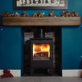 ESSE 550SE woodburning stove christmas surround