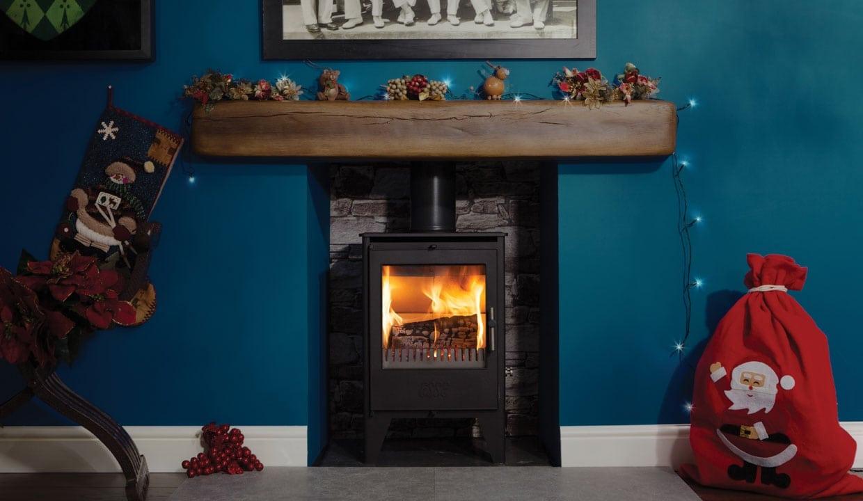 ESSE 550SE woodburning stove christmas surround