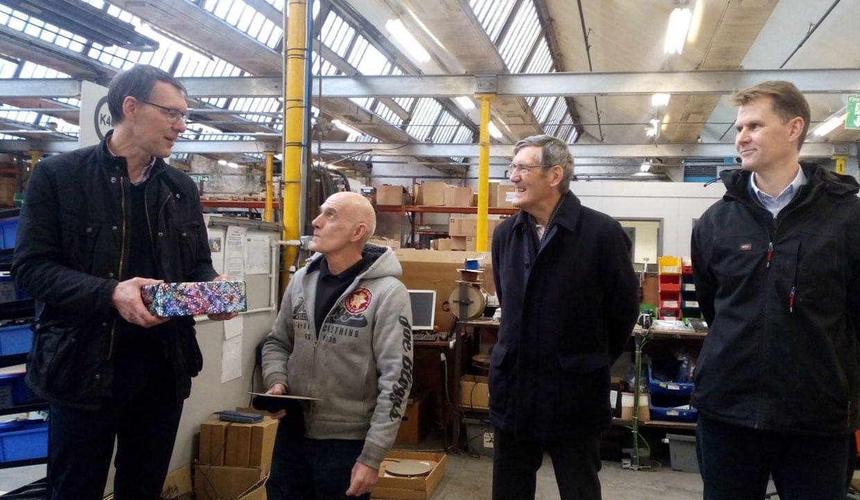 Metalworker Mick clocks up half century at ESSE Engineering Ltd