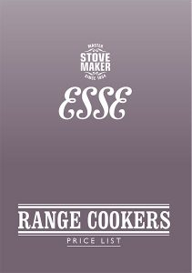 2019 cookers price list cover
