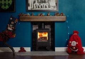 ESSE 550SE Blue roomset Christmas