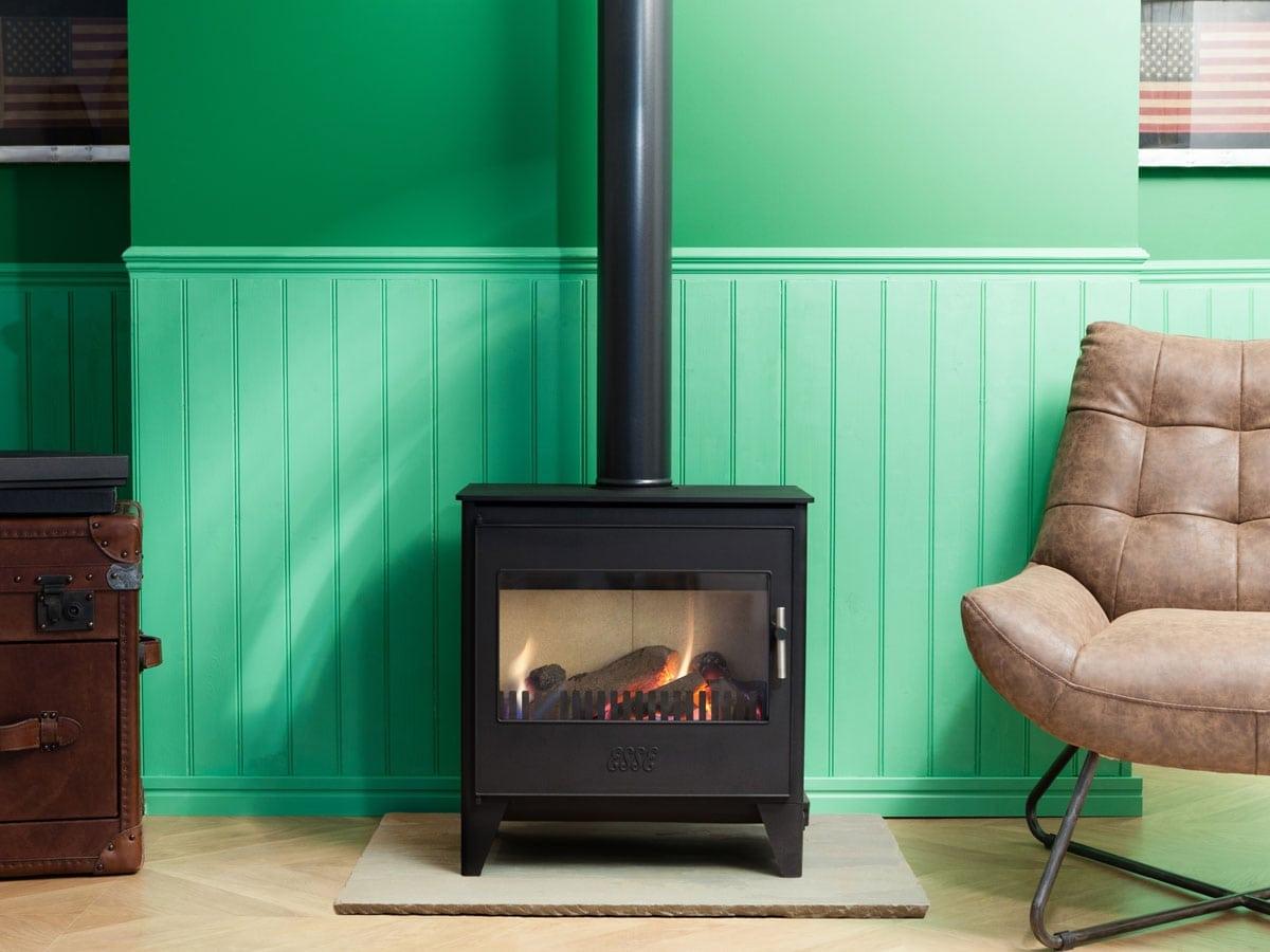 ESSE 250 gas flued stove