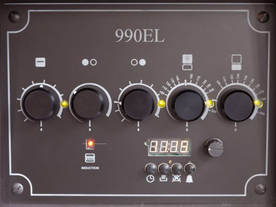ESSE 990 EL control panel