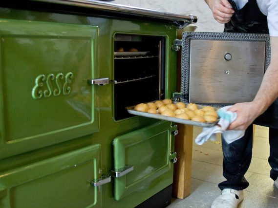 ESSE 990 EL tray in top oven