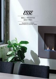 esse gas fires brochure cover