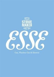 ESSE gas stoves brochure cover