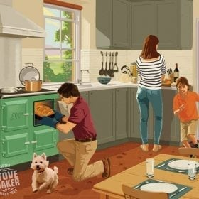 the quintessence of family life kitchen