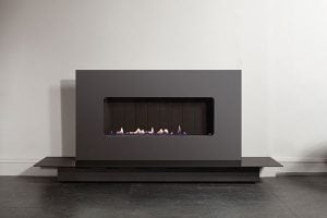 48 inch grey landscape gas fire