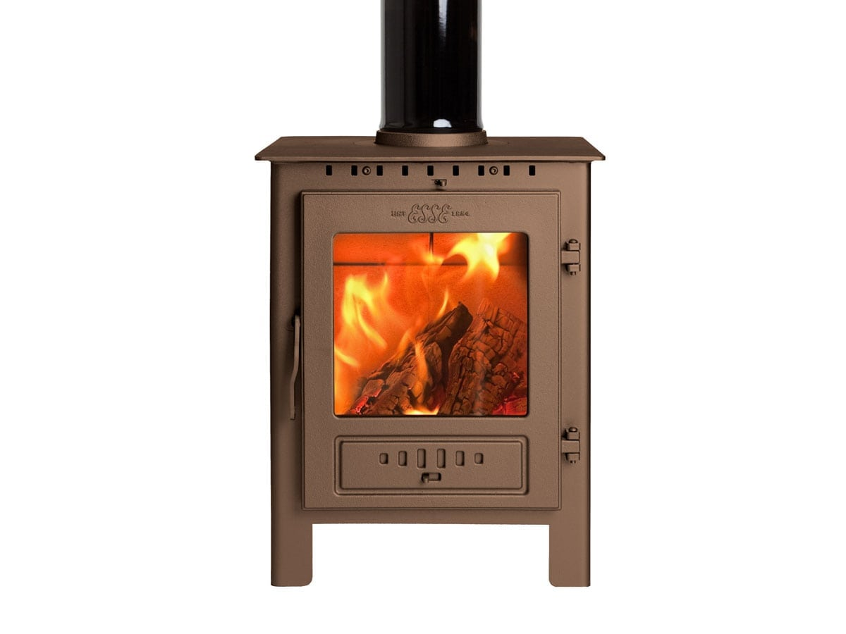 ESSE 1 stove in bronze