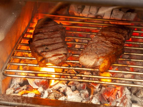 ESSE cooked grilled steak