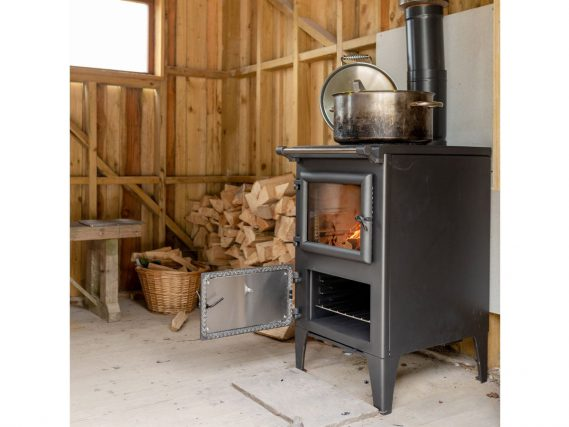 Bakeheart angled at River Cottage Oven Door Open