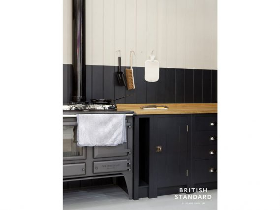 ESSE Ironheart blue kitchen angled