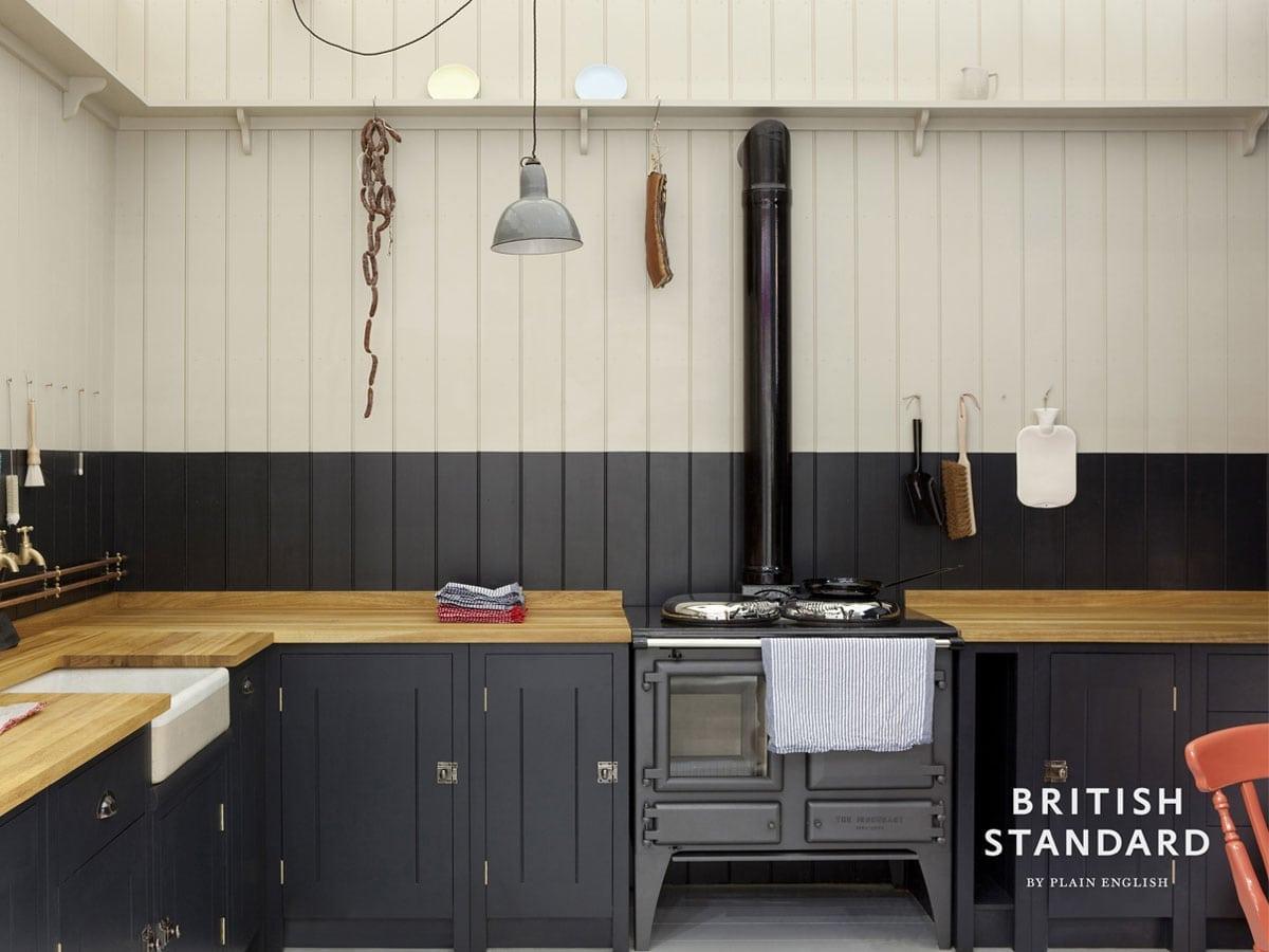 ESSE Ironheart Blue kitchen