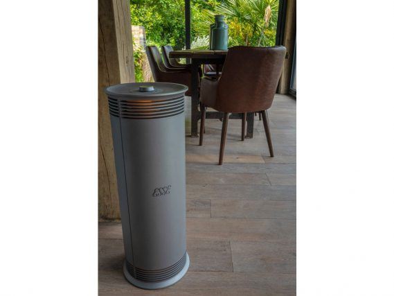 ESSE Vector heater roomset top angled view