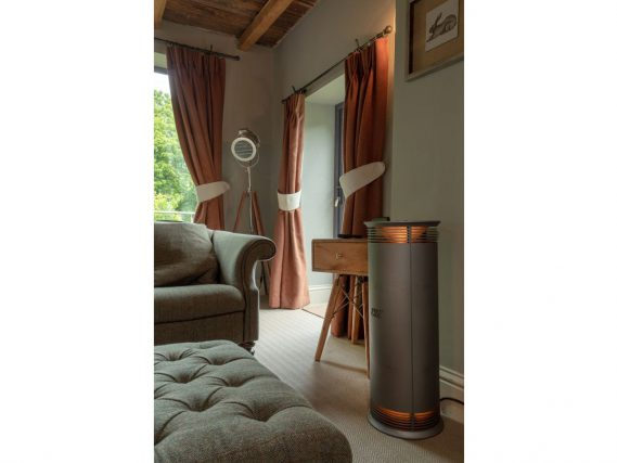 ESSE Vector heater silverstone roomset
