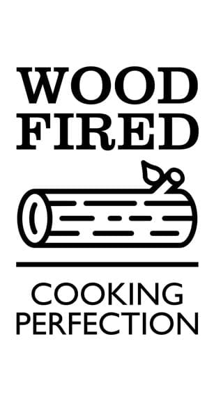 Wood fired cooking perfection