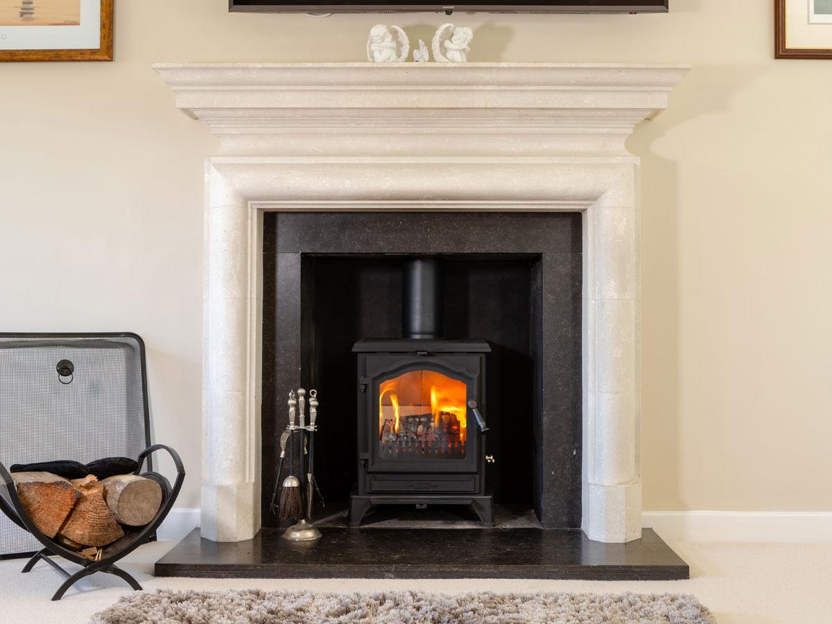 500SE stove cottage