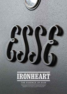 ESSE Ironheart Range brochure cover