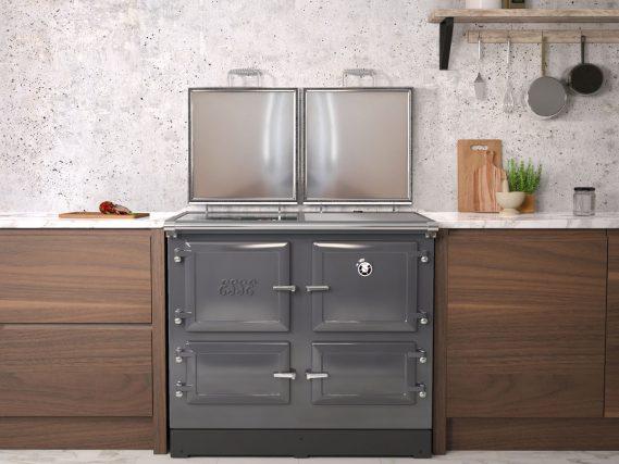 ESSE 990 ELX kitchen top lids open