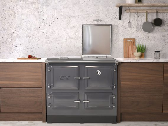 ESSE 990 ELX kitchen right lid open