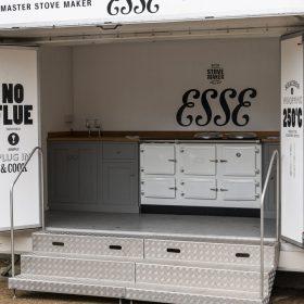 ESSE cooker show trailer
