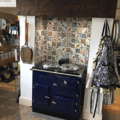 ESSE customers range cooker blues (3)