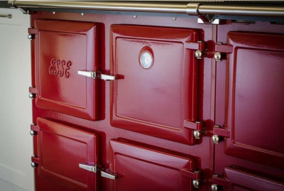 ESSE customers range cooker claret (1)