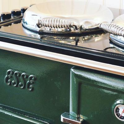 ESSE customers range cooker classic green