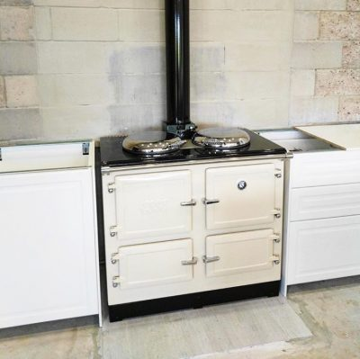 ESSE customers range cooker white and cream (25)