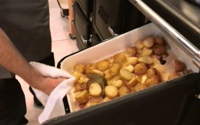 Roast potatoes in an ESSE oven