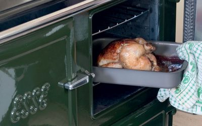 ESSE 990 Hybrid chicken in oven