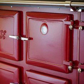 claret ESSE range cooker doors