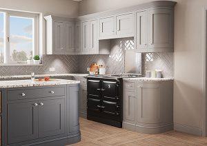 matte 990 elx grey kitchen angled