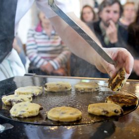 cooking on the ESSE hob at River Cottage