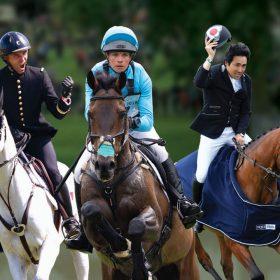 Bramham festival show horses