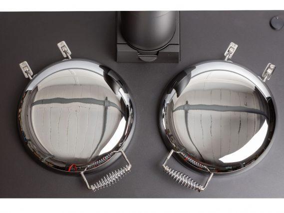 ESSE 990 Hybrid bolster lids vertical view