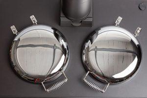 ESSE 990 Hybrid bolster lids vertical view small