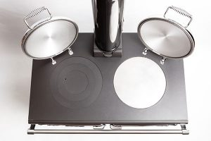 ESSE 990 Hybrid cutout hotplates vertical view small