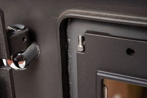 ESSE 990 Hybrid firebox door hinge small